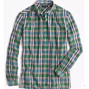 J.Crew Popover in Vintage Plaid
